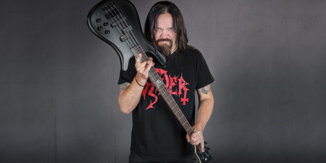 Warwick Artist Anders Odden (Satyricon) and his new Streamer LX