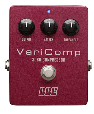 The BBE VariComp compressor is inspired by some of the coolest vintage