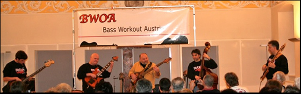 Jim Stinnett Bass Workout Austria