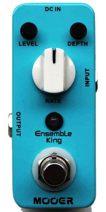 review mooer ensemble king analog chorus pedal bass frontiers magazine. Black Bedroom Furniture Sets. Home Design Ideas