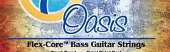 Oasis Flex Core Bass Guitar Strings