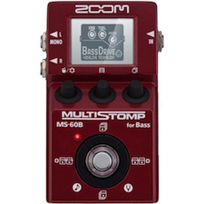 review zoom multistomp ms 60b for bass bass frontiers magazine. Black Bedroom Furniture Sets. Home Design Ideas